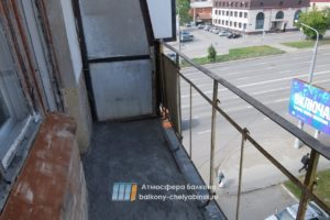 Демонтаж балкона в хрущевке