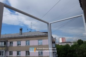 Холодные рамы балкона