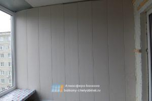Отделка ламинированной панелью
