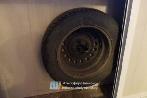 Ниши для хранения колес