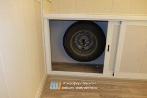 Шкафчики для колес