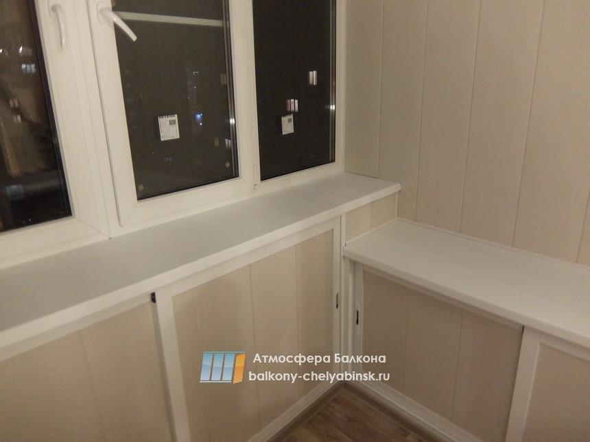 Шкафы и ниши на балконе