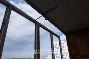 Монтаж балконных рам
