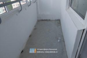 Балкон черновой