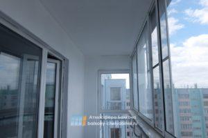 Начало работы на балконе