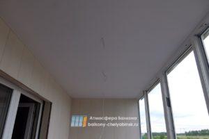 Потолок на лоджии