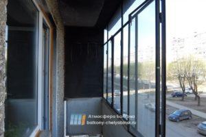 Железные рамы на балкон