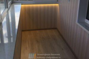Балкон с подсветкой
