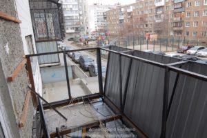 Расширение площади балкона