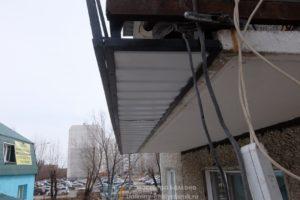 Балкон с выносом по низу вперед
