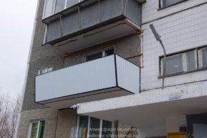 Обшивка и вынос балкона
