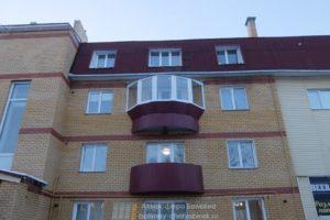 Балкон полусферой