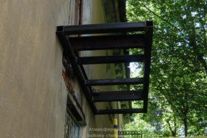 Ремонт балкона в двухэтажном доме