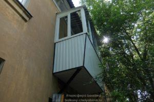 Торец балкона