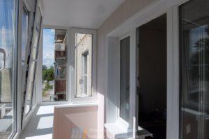 Отделка балкона в Челябинске