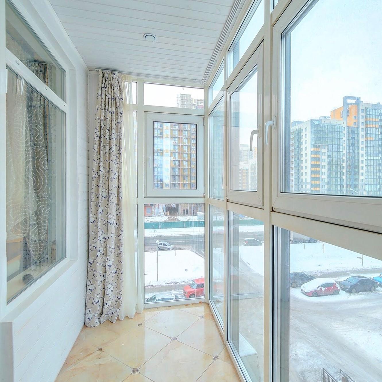 Панорамное остекление лоджий и балконов